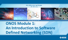 ONOS Module 1: An Introduction to Software Defined Networking (SDN)
