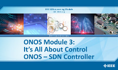 ONOS Module 3: It's All About Control: ONOS SDN Controller