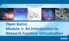 Open Baton Module 1: An Introduction to Network Function Virtualization