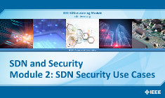 SDN and Security Module 2: SDN Security Use Cases