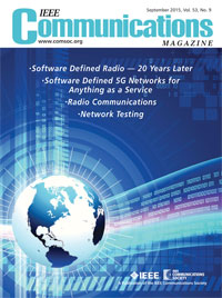 IEEE Communications Magazine, September 2015