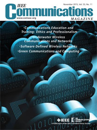 IEEE Communications Magazine, November 2015