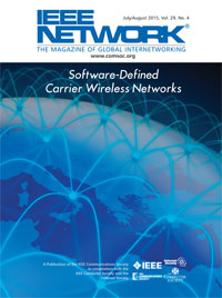 IEEE Network: Special Issue on Software-Defined Carrier Wireless Networks