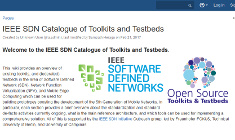 IEEE SDN Catalogue of Toolkits and Testbeds